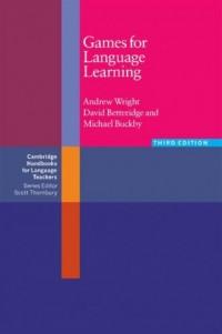 Games for Language Learning - okładka podręcznika