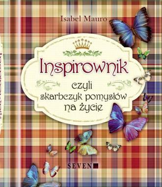 Inspirownik czyli skarbczyk pomysłów - okładka książki