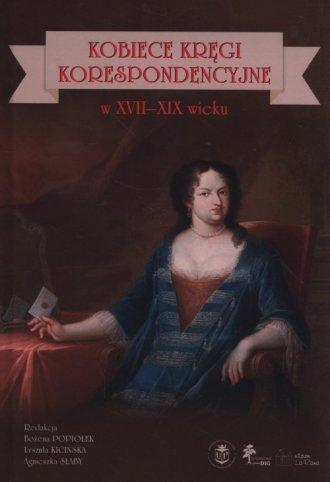 Kobiece kręgi korespondencyjne - okładka książki