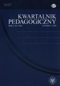 Kwartalnik Pedagogiczny 1/2016 - okładka książki