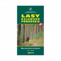Lasy Kujawsko Pomorskie (skala 1:250 000) - okładka książki