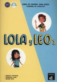 Lola y Leo 1. Cuaderno de ejercicios 1 - okładka podręcznika
