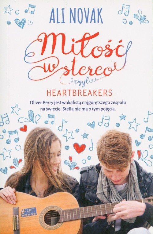 Miłość w stereo czyli Heartbreakers - okładka książki