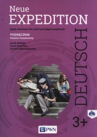 Neue Expedition Deutsch 3. Podręcznik - okładka podręcznika