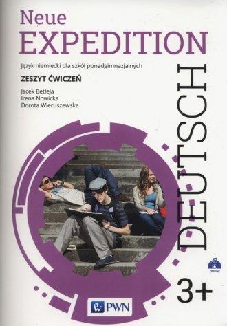 Neue Expedition Deutsch 3+. Zeszyt - okładka podręcznika
