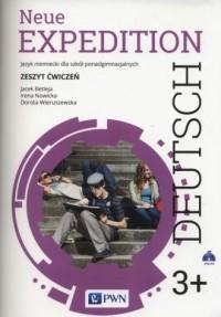 Neue Expedition Deutsch 3+. Zeszyt ćwiczeń - okładka podręcznika