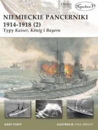 Niemieckie pancerniki 1914-1918 - okładka książki