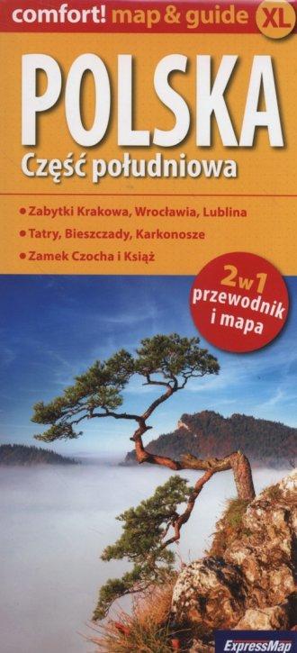 Polska. Część południowa 2 w 1. - okładka książki