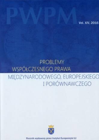 Problemy Współczesnego Prawa Międzynarodowego, - okładka książki