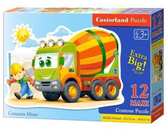 Betoniarka (puzzle maxi 12-elem.) - zdjęcie zabawki, gry