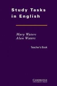 Study Tasks in English. Teachers Book - okładka podręcznika