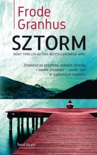 Sztorm - okładka książki