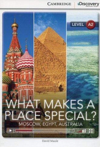 What Makes a Place Special? Moscow, - okładka podręcznika