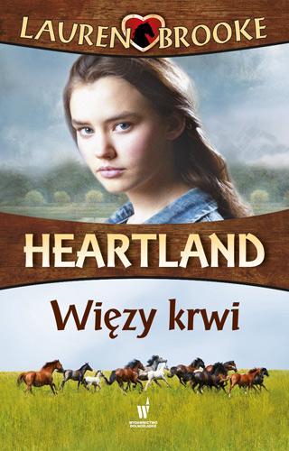 Więzy krwi. Heartland 8 - okładka książki