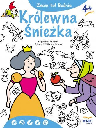 Znam to! Królewna Śnieżka i siedmiu - okładka książki