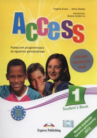 Access 1. Gimnazjum. Podręcznik - okładka podręcznika