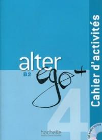 Alter Ego+ 4. Zeszyt ćwiczeń (+ CD) - okładka podręcznika