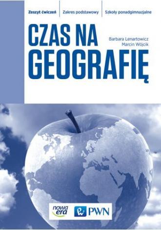 Czas na geografię. Szkoły ponadgimnazjalne. - okładka podręcznika