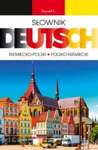 Deutsch. Słownik niemiecko-polski, polsko-niemiecki - okładka książki