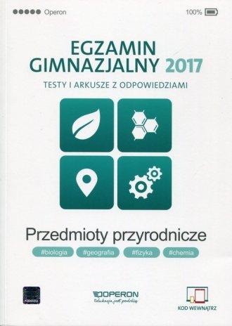 Egzamin gimnazjalny 2017. Testy - okładka podręcznika