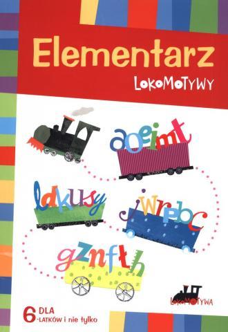 Elementarz Lokomotywy. Dla 6-latków - okładka podręcznika