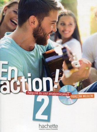 En Action 2. Szkoła ponadgimnazjalna. - okładka podręcznika