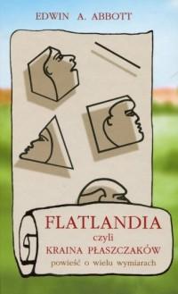 Flatlandia czyli Kraina Płaszczaków. Powieść o wielu wymiarach - okładka podręcznika