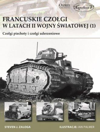 Francuskie czołgi w latach II wojny - okładka książki