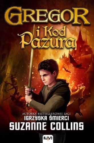 Gregor i Kod Pazura - okładka książki