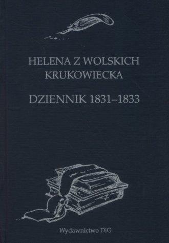 Helena z Wolskich Krukowiecka. - okładka książki