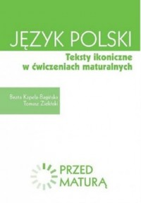 Język polski. Teksty ikoniczne w ćwiczeniach maturalnych. Zdam maturę - okładka podręcznika