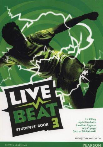 Live Beat 3. Gimnazjum. Podręcznik - okładka podręcznika