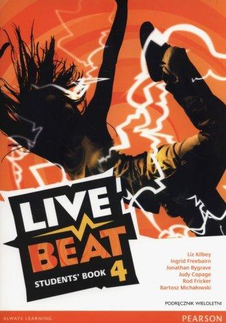 Live Beat 4. Gimnazjum. Podręcznik - okładka podręcznika