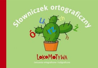 Lokomotywa 2. Słowniczek ortograficzny. - okładka podręcznika