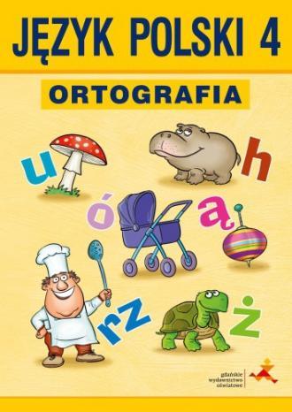 Między nami. Język polski 4. Ortografia. - okładka podręcznika