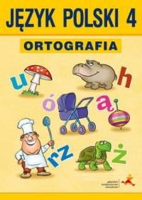 Między nami. Język polski 4. Ortografia. Zasady i ćwiczenia - okładka podręcznika