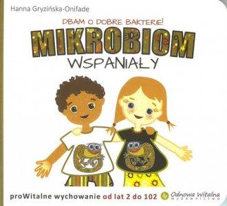 Mikrobiom wspaniały - okładka książki