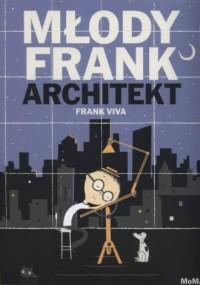 Młody Frank architekt - okładka książki