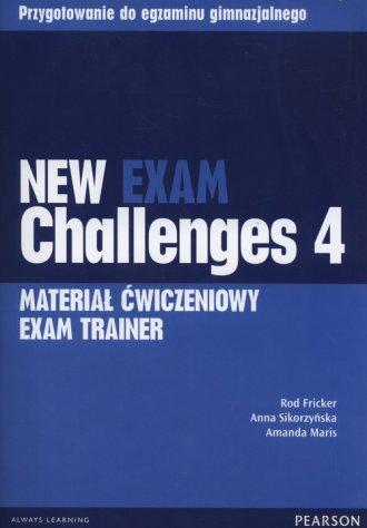 New Exam Challenges 4. Exam Trainer. - okładka podręcznika