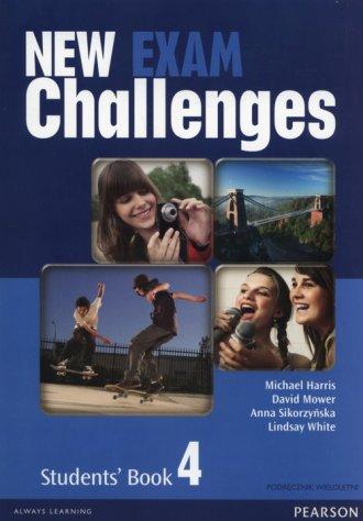New Exam Challenges 4. Gimnazjum. - okładka podręcznika