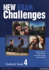 New Exam Challenges 4. Gimnazjum. Podręcznik wieloletni (+ CD) - okładka podręcznika