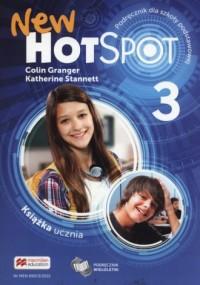 New Hot Spot 3. Podręcznik wieloletni. - okładka podręcznika
