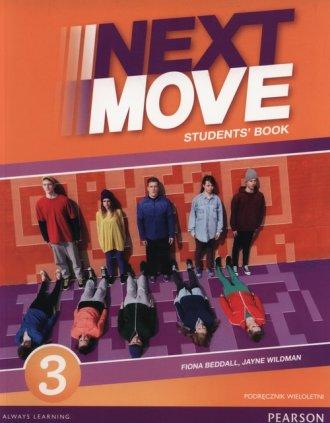 Next Move 3. Gimnazjum. Podręcznik - okładka podręcznika