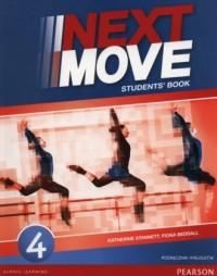 Next Move 4. Gimnazjum. Podręcznik wieloletni (+ CD) - okładka podręcznika