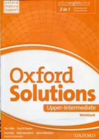 Oxford Solutions. Upper Intermediate. Ćwiczenia - okładka podręcznika