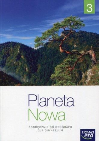 Planeta Nowa 3. Gimnazjum. Podręcznik - okładka podręcznika