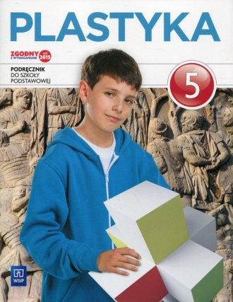 Plastyka 5. Szkoła podstawowa. - okładka podręcznika
