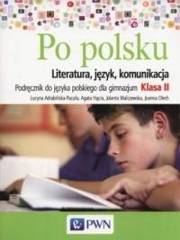 Po polsku 2. Gimnazjum. Podręcznik - okładka podręcznika