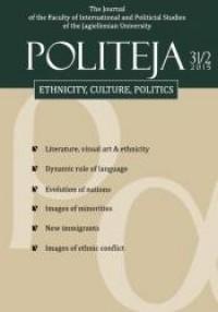 Politeja 2015, nr 31(2)/2015 - okładka książki