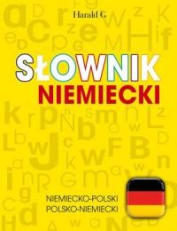 Słownik niemiecki: niemiecko-polski, polsko-niemiecki - okładka książki